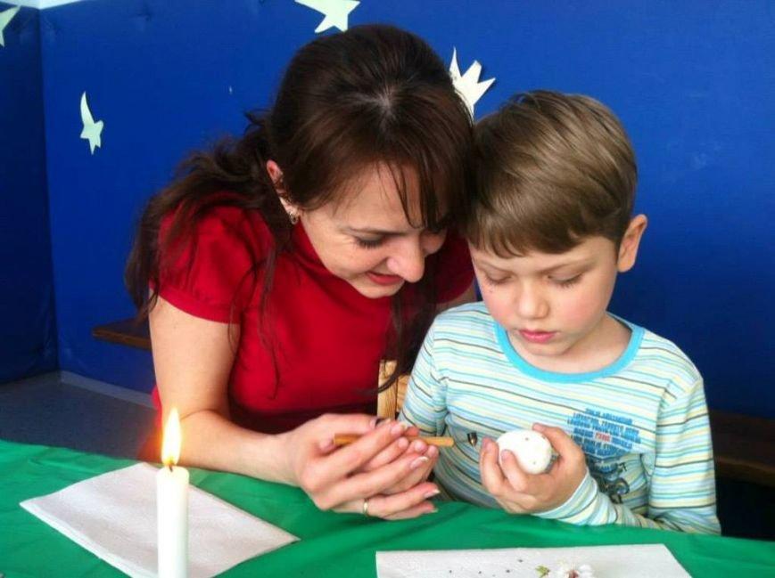 Народный мастер из Артемовска провел мастер-класс для донецких малышей, фото-8