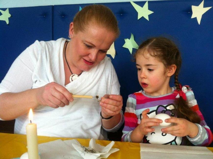 Народный мастер из Артемовска провел мастер-класс для донецких малышей, фото-4