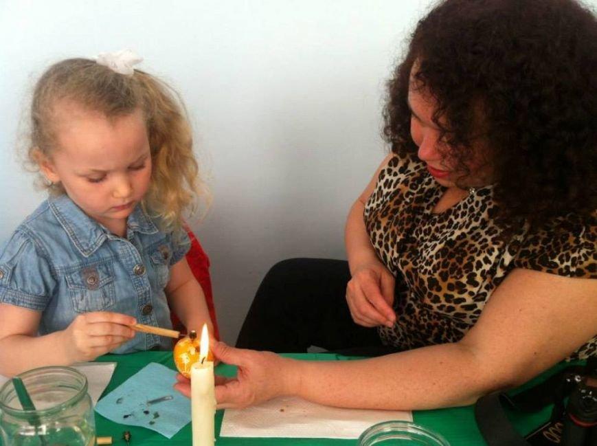 Народный мастер из Артемовска провел мастер-класс для донецких малышей, фото-2