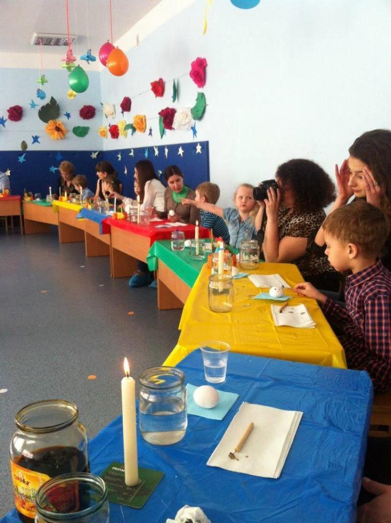 Народный мастер из Артемовска провел мастер-класс для донецких малышей, фото-6