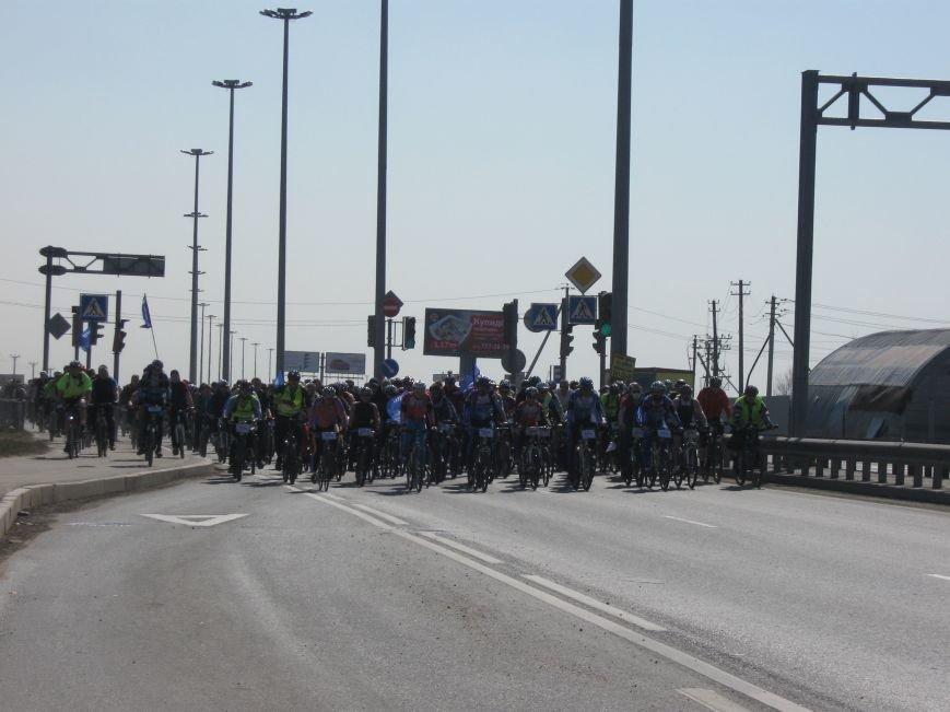 велопробег, открытие велосипедного сезона 2014, город Пушкин, Шушары, 19 апреля