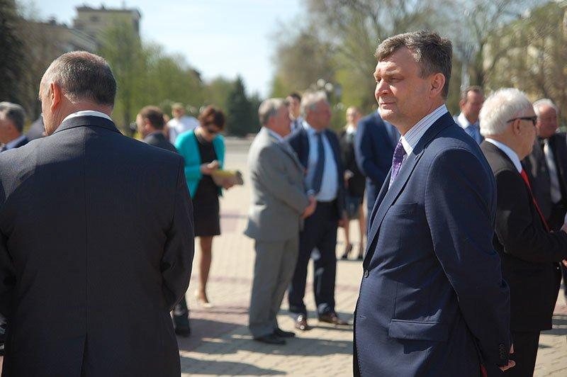 Первые лица Белгорода и области посетили пасхальное богослужение на Соборной площади, фото-6