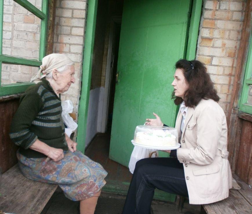 Артемовский благотворительный фонд «ДАР» поздравил ветеранов-инвалидов с Пасхой, фото-7