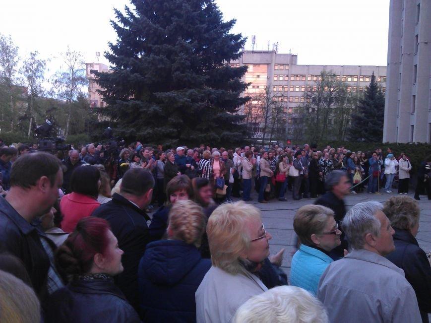 Концерт хору «Калина» біля ОДА  пройшов з аншлагом (Фото), фото-4