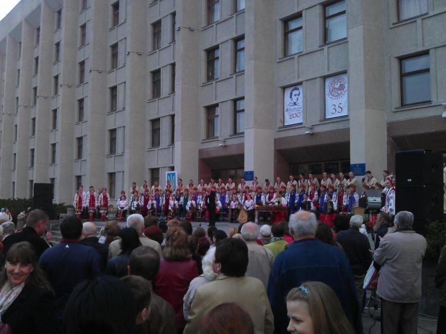 Концерт хору «Калина» біля ОДА  пройшов з аншлагом (Фото), фото-3