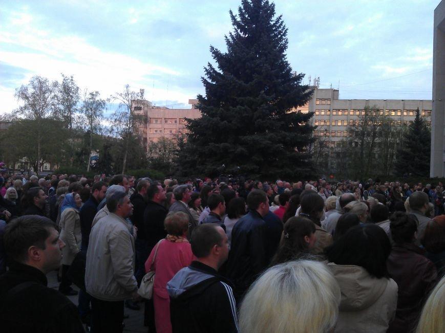 Концерт хору «Калина» біля ОДА  пройшов з аншлагом (Фото), фото-5