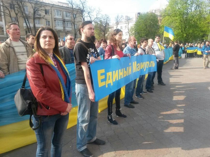 В Мариуполе начался митинг за единую Украину (ФОТО +Дополняется), фото-6