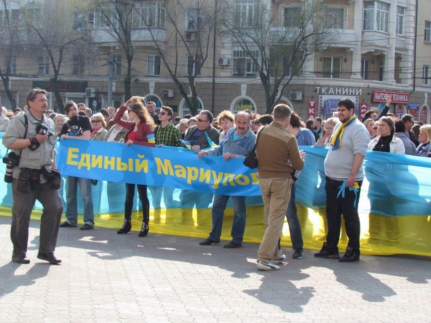 В Мариуполе начался митинг за единую Украину (ФОТО +Дополняется), фото-12