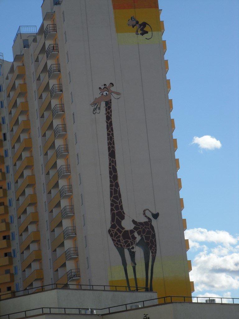 поселок Шушары, граффити, рисунки, достопримечательности, Пушкинский район
