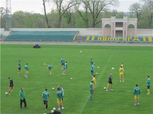 Тренировка «Авангарда» (22.04.2014) - фотоотчет, фото-1