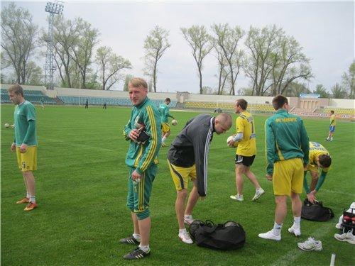 Тренировка «Авангарда» (22.04.2014) - фотоотчет, фото-2