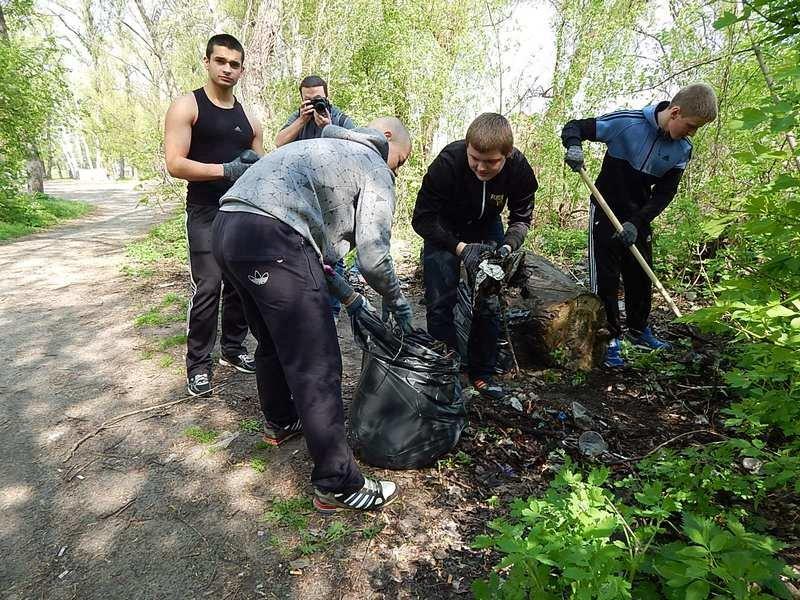 Береги Ворскли звільняли від сміття (фото), фото-3
