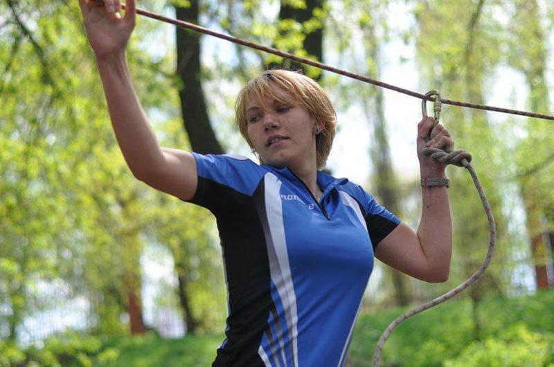 Студенты белгородского госуниверситета устроили соревнования под девизом «Беги, форест, беги», фото-2