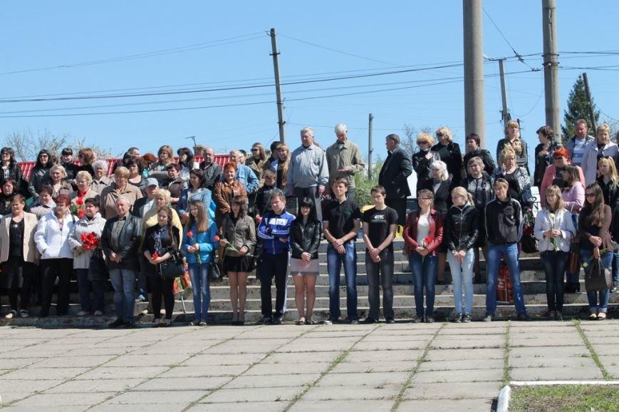 ФОТОФАКТ: в Артемовске возложили цветы к «Колоколу Чернобыля», фото-4
