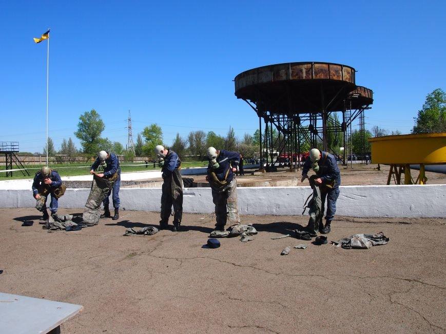 В Днепродзержинске состоялись областные соревнования среди звеньев газодымозащитной службы, фото-2