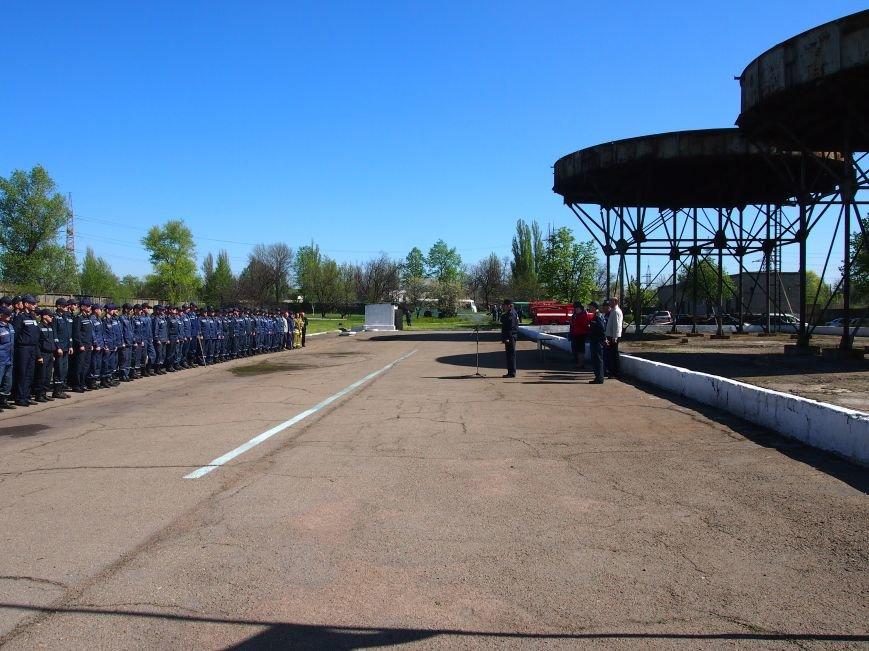 В Днепродзержинске состоялись областные соревнования среди звеньев газодымозащитной службы, фото-1
