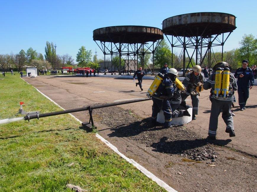 В Днепродзержинске состоялись областные соревнования среди звеньев газодымозащитной службы, фото-4