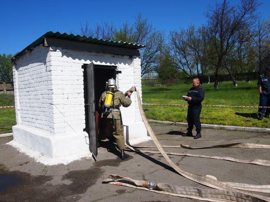В Днепродзержинске состоялись областные соревнования среди звеньев газодымозащитной службы, фото-5