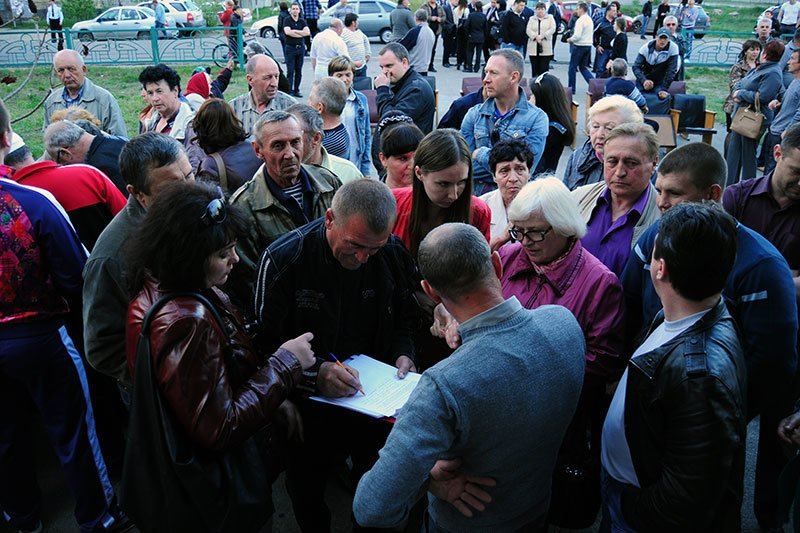 Лес в Нижнем Ольшанце:  Жители села собираются жаловаться президенту на власти и застройщиков, фото-4
