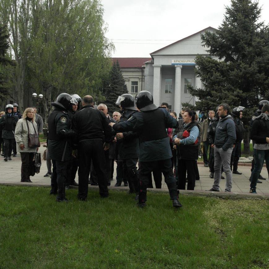 В Красноармейске состоялось шествие за единую Украину, фото-13