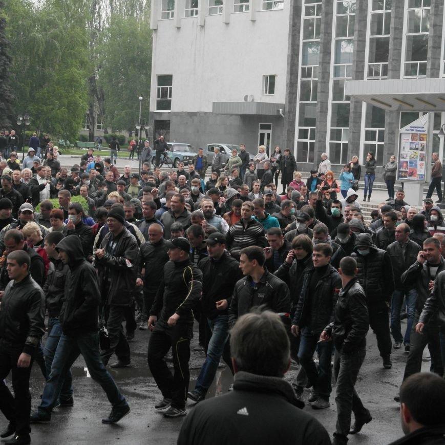 В Красноармейске состоялось шествие за единую Украину, фото-9