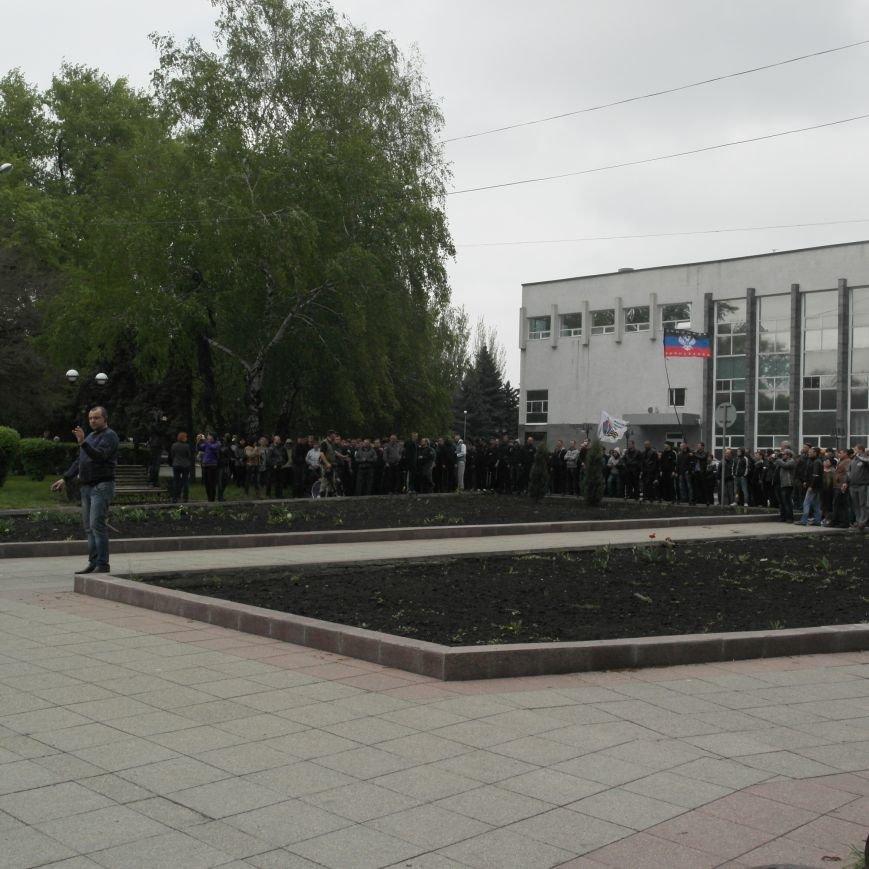 В Красноармейске состоялось шествие за единую Украину, фото-12