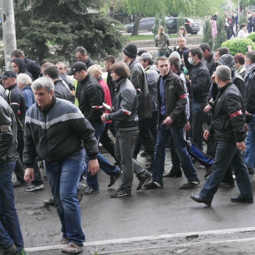 В Красноармейске состоялось шествие за единую Украину, фото-8
