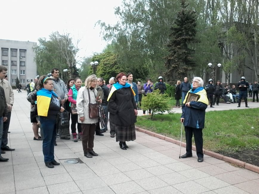 В Красноармейске состоялось шествие за единую Украину, фото-6