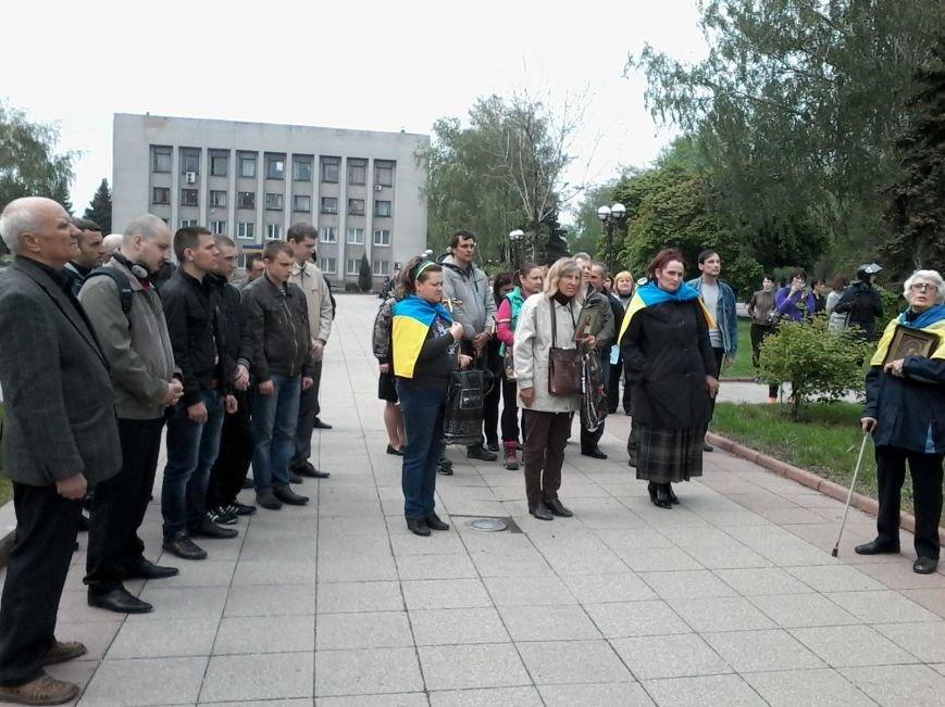 В Красноармейске состоялось шествие за единую Украину, фото-7