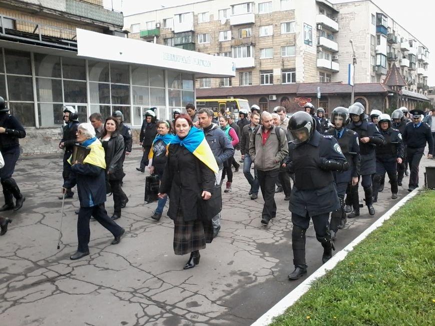 В Красноармейске состоялось шествие за единую Украину, фото-4