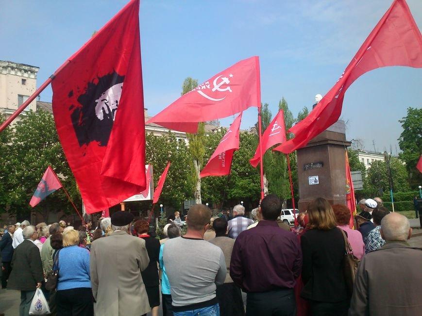 Днепродзержинские коммунисты митинговали против роста цен, капитализма, и фашизма, фото-5