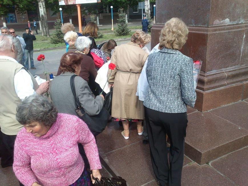 Днепродзержинские коммунисты митинговали против роста цен, капитализма, и фашизма, фото-7