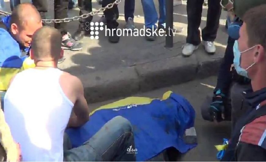 В центре Одессы столкновение: стреляют шумовыми гранатами (ФОТО, СТРИМ), фото-8