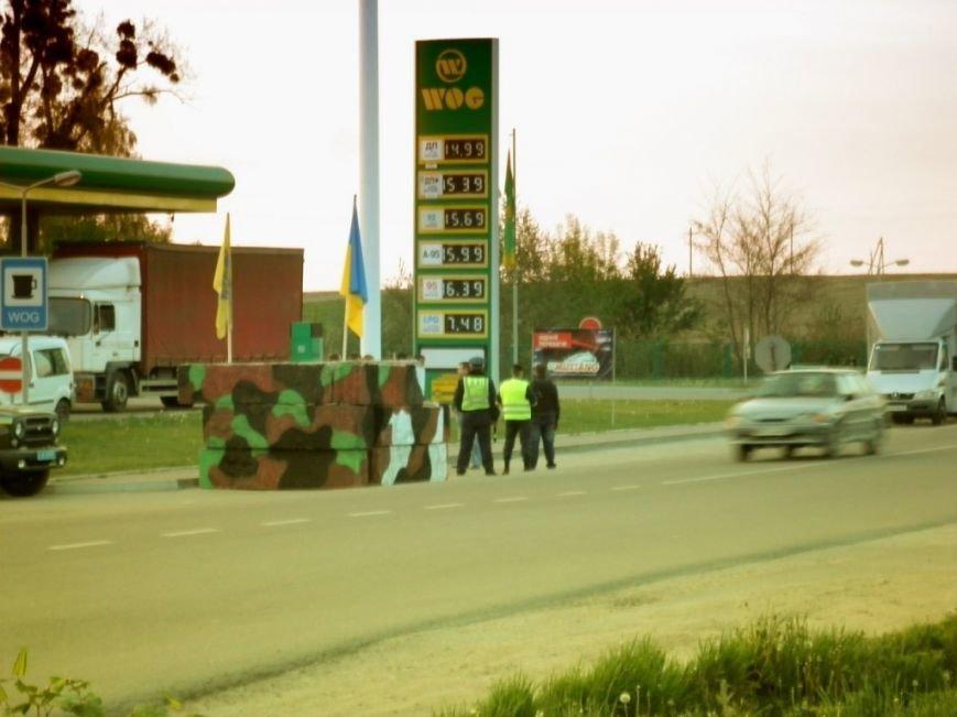 На Тернопільщині з`явився стильний блокпост (фото), фото-1