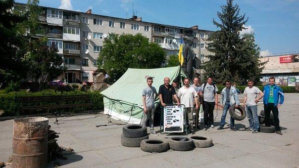 На Тернопільщині знову «відкрили» Майдан (фото), фото-1