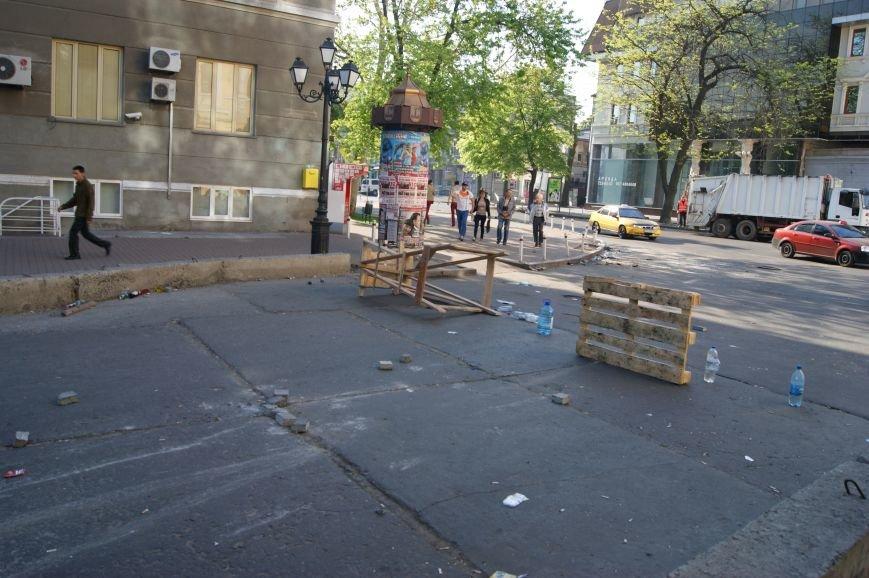Фоторепортаж: Утро после адской пятницы в Одессе, фото-15