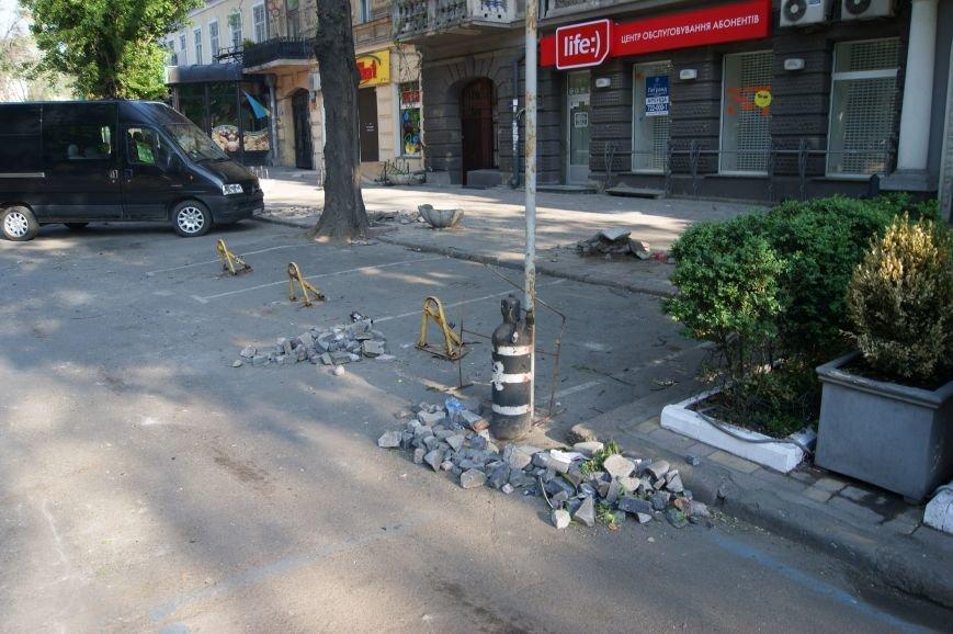 Фоторепортаж: Утро после адской пятницы в Одессе, фото-1