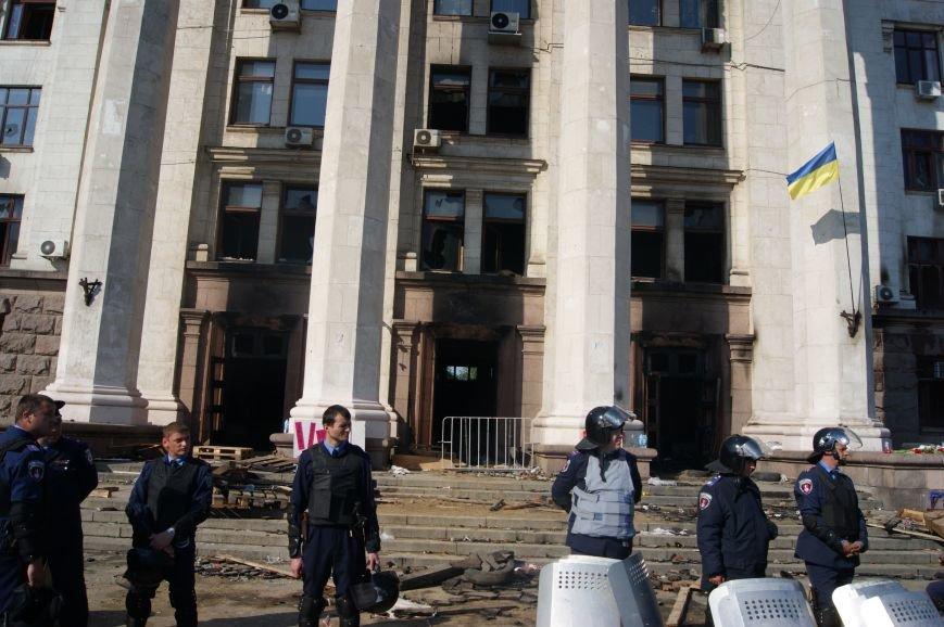 Фоторепортаж: Утро после адской пятницы в Одессе, фото-38