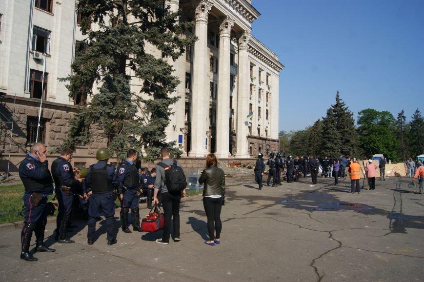Фоторепортаж: Утро после адской пятницы в Одессе, фото-41