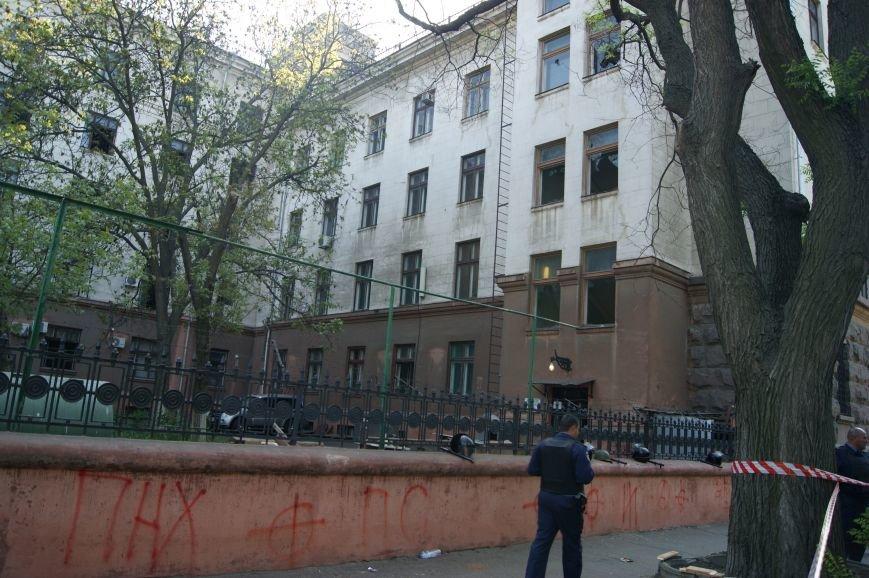 Фоторепортаж: Утро после адской пятницы в Одессе, фото-46