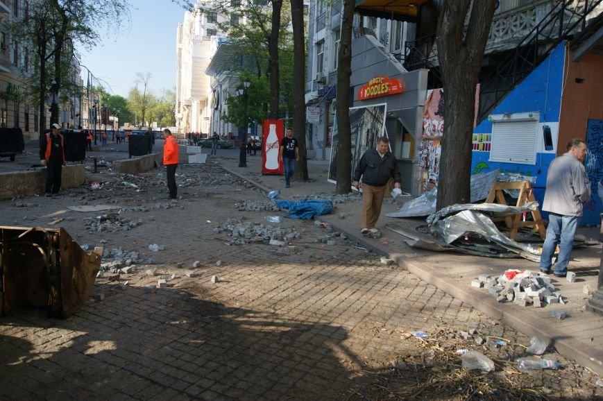 Фоторепортаж: Утро после адской пятницы в Одессе, фото-20