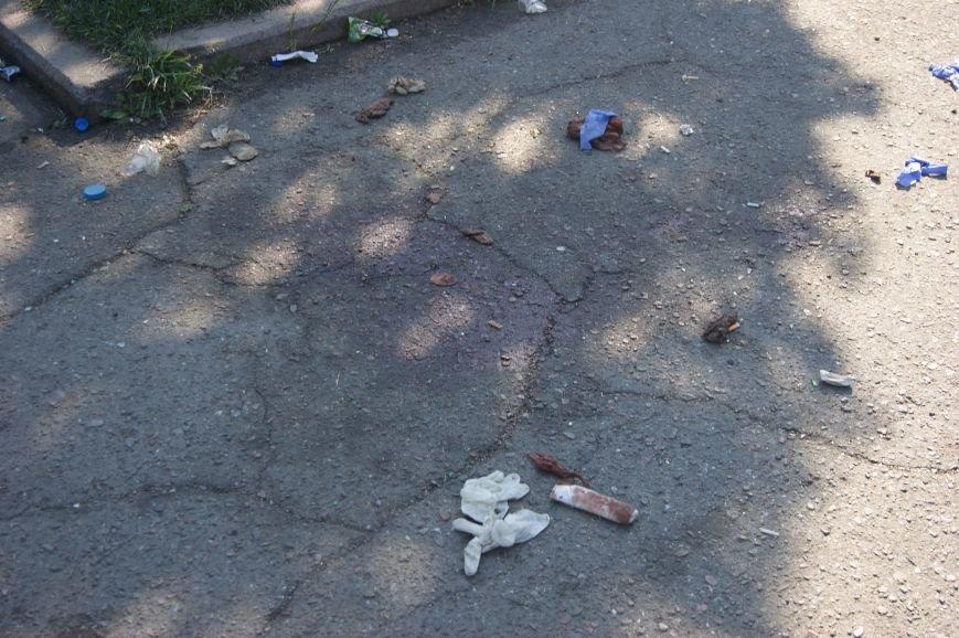 Фоторепортаж: Утро после адской пятницы в Одессе, фото-53