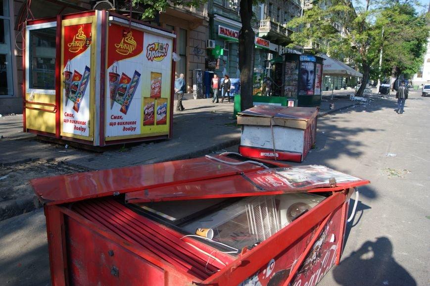 Фоторепортаж: Утро после адской пятницы в Одессе, фото-4