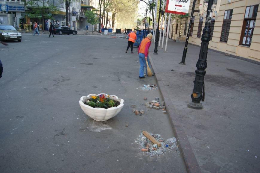 Фоторепортаж: Утро после адской пятницы в Одессе, фото-12