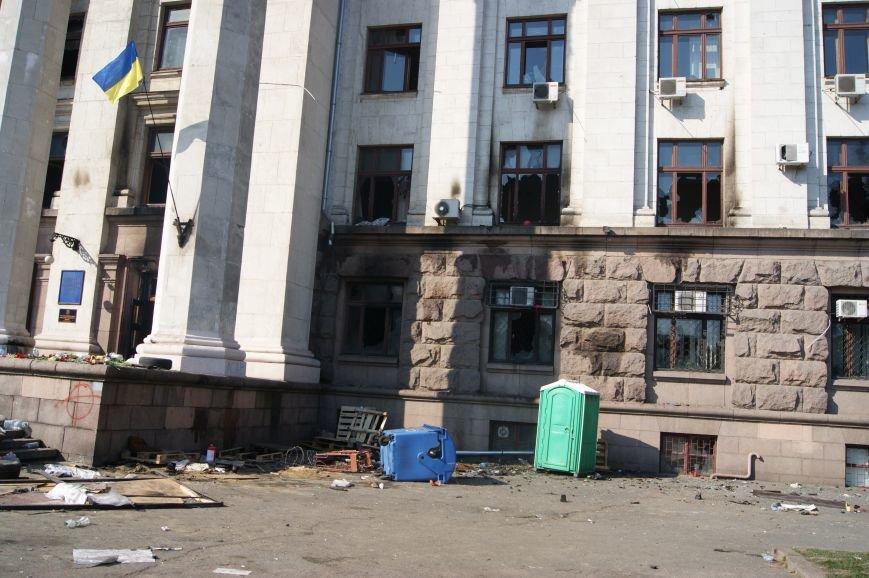Фоторепортаж: Утро после адской пятницы в Одессе, фото-55