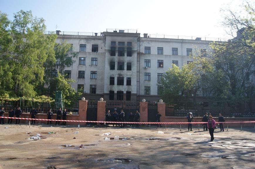 Фоторепортаж: Утро после адской пятницы в Одессе, фото-49