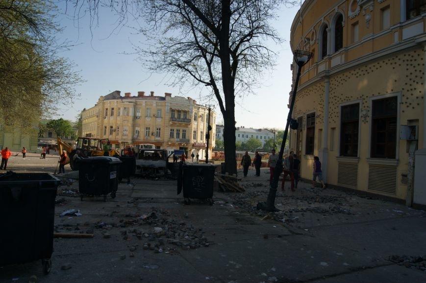 Фоторепортаж: Утро после адской пятницы в Одессе, фото-11