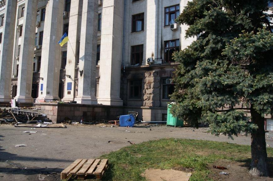 Фоторепортаж: Утро после адской пятницы в Одессе, фото-54
