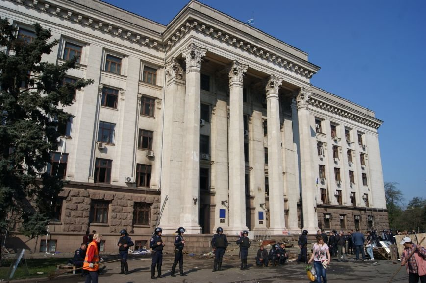 Фоторепортаж: Утро после адской пятницы в Одессе, фото-39