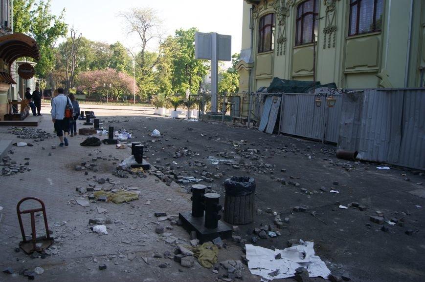 Фоторепортаж: Утро после адской пятницы в Одессе, фото-28